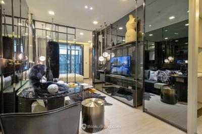 ขายดาวน์คอนโดพระราม 9 เพชรบุรีตัดใหม่ : ขายดาวน์ 195 One9Five 1Bedroom Junior 25.5 sqm. / 2Bedroom มีหลายห้อง ราคาถูกกว่าโครงการ เจ้าของขายเอง