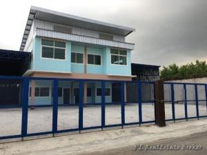 For RentHome OfficeKaset Nawamin,Ladplakao : Warehouse for rent, 1155 sq m. with office, Kaset-Nawamin area, Yothin Phatthana 3, near the expressway