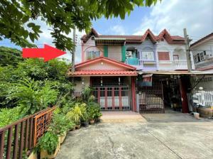 For SaleTownhouseNawamin, Ramindra : Townhouse for sale, behind the rim, 29.9 sq wa, Ramintra Village 2, Ram Inthra 109, Soi Phraya Suren 30