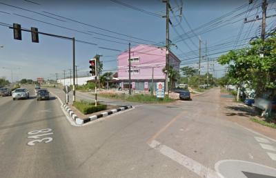 For SaleLandTrat : FF252 Land for sale 30 Rai, Mueang Trat District Near Makro, Trat branch, bus station, good location