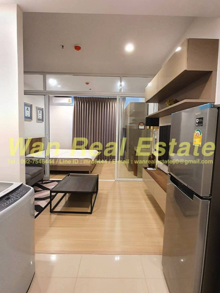 For RentCondoSathorn, Narathiwat : For rent, Condo Supalai Lite Ratchada, Narathiwat, Sathorn, size 34 sq. M. Fully furnished, ready to move in.