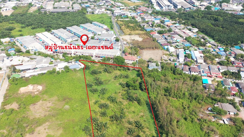 For SaleLandRama 2, Bang Khun Thian : Land for sale at a cheap price, suitable for a village in Samut Mahachai Island, near Rama 2, near Central Mahachai.