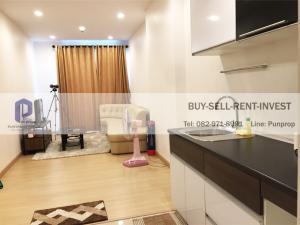 For SaleCondoSathorn, Narathiwat : Condo Supalai Lite Ratchada-Narathiwat-Sathorn, 1 bedroom, high floor, river view, fully furnished 4.79 million