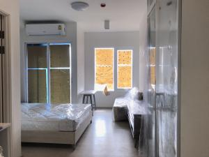 เช่าคอนโดรัชดา ห้วยขวาง : ให้เช่า Chapterone Eco studio 24ตรม อาคาร H ชั้น15 11,000บาท ต่อเดือน
