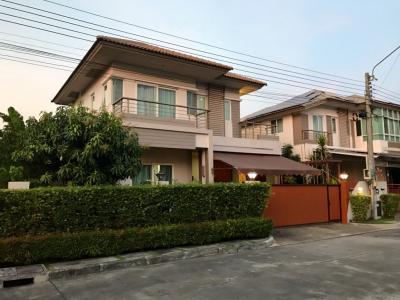 For SaleHouseBangna, Lasalle, Bearing : House for sale Burasiri Ring Road On Nut Bangna Prawet, close to wide main road The house is beautiful like an angel