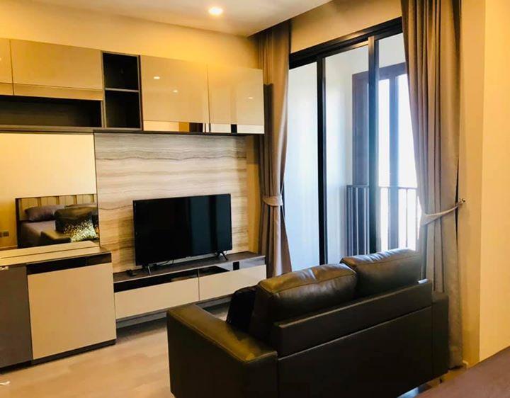 For RentCondoSukhumvit, Asoke, Thonglor : ^^ Ashton Asoke for Rent (New room) High fl. 1 Bedroom East view size 35m2. For rent, 1 bedroom, 35 sqm, east (new room)