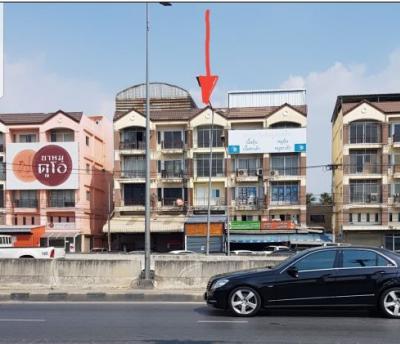 (เจ้าของขายเอง) ขายอาคารพาณิชย์ ทำเลทอง วงวียนพระราม 5 ติดถนนราชพฤกษ์  เพื่อเปิดกิจการพร้อมอยู่อาศัย หน้ากว้าง 4 เมตร ลึก 23 เมตร ปูกระเบื้องแกรนิตโต