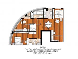 For RentCondoRamkhamhaeng Nida, Seri Thai : Condo for rent 2 bedrooms, 2 bathrooms, cheap beautiful rooms, Bangkok Horizon (Bangkok Horizon) Ramkhamhaeng 60.