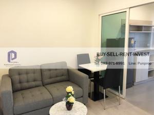 เช่าคอนโดท่าพระ ตลาดพลู : Condo for rent @Aspire Sathorn Thapra 1 br. 22nd fl. City view Closed to BTS Talat Phlu 13,000 baht/month