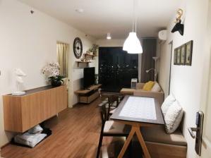 เช่าคอนโดพระราม 3 สาธุประดิษฐ์ : คอนโดให้เช่า! U Delight Residence Riverfront Rama 3 ชั้น 21 หน้าน้ำ 2 ห้องนอน 29,000 บาท/เดือน