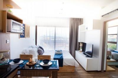 เช่าคอนโดพัทยา บางแสน ชลบุรี : ให้เช่า ทรีท๊อปส์ พัทยา ทางขึ้นเขาพระตำหนัก  แบบ 1ห้องนอน ขนาด 34.5 ตรม  ห้องแต่งใหม่สวย เฟอร์ครบ