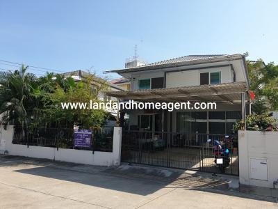 For SaleHouseRathburana, Suksawat : Sell Prueklada Pracha-Uthit 90, beautiful house number Plot near the club