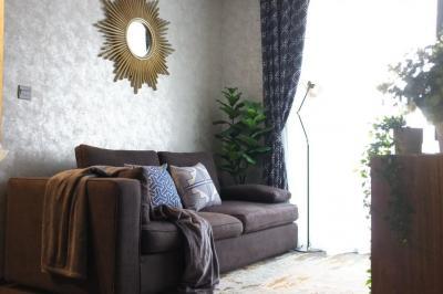 เช่าคอนโดราชเทวี พญาไท : ++ให้เช่าห้องสวย++ The Line Ratchathewi 2 ห้องนอน 55 ตารางเมตร ชั้นสูง แต่งสวยดูดีมีสไตล์