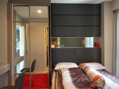 ขายคอนโดพระราม 9 เพชรบุรีตัดใหม่ : ขาย เช่า คอนโด ห้องมุม ริทึ่ม อโศก2 Rhythm Asoke 2ห้องนอน 44ตรม.ใกล้ MRTพระรามเก้า AirportLink 300เมตร