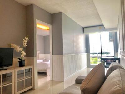 เช่าคอนโดอ่อนนุช อุดมสุข : Large 56.5 sqm fully furnished 1Bedroom/1Living room serviced apartment FOR RENT