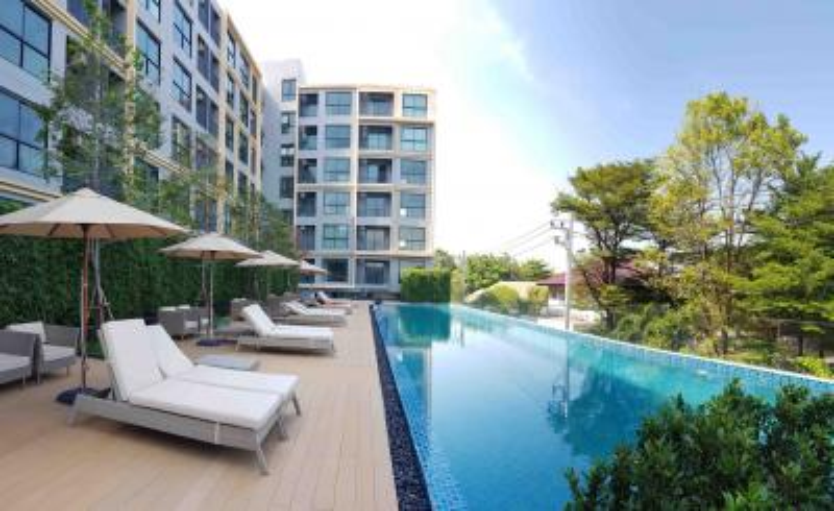 For RentCondoRangsit, Patumtani : 💎💎 Condo for rent, The Excel, Khu Khot - Lam Luk Ka, beautiful room, 6,500 baht per month (brand new room), free common fee, Building B, 6th floor