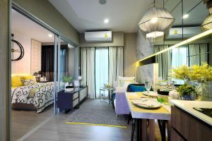 Sale DownCondoBang kae, Phetkasem : Down payment, below the contract price. The Parkland Phetkasem 56 rooms, city view, north, not hot sun and afternoon.
