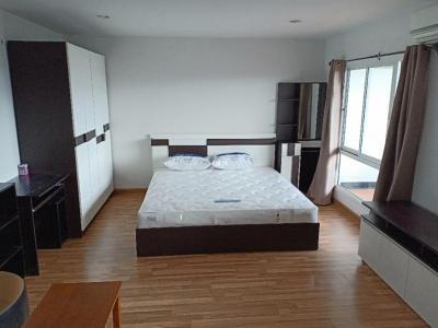 For RentCondoOnnut, Udomsuk : Condo for sale/rent 45 sqm. 1.5 million /7500 Regent Home 9 Sukhumvit 64 (Regent Home 9 Sukhumvit 64) fully furnished with electrical appliances. front room Very large balcony, room 30 sq.m., balcony 15 sq.m.