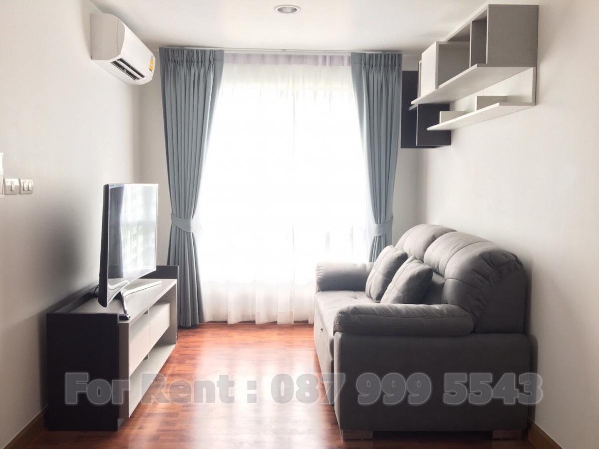 For SaleCondoSeri Thai, Ramkhamhaeng Nida : Condo 92 sq.m., 2 bedrooms, 2 bathrooms, 1 car park on the east side