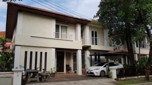 เช่าบ้านเลียบทางด่วนรามอินทรา : RH125ให้เช่าบ้านเดี่ยว บางกอกวิลล่า ใกล้โรงเรียนนานาชาติสิงคโปร์