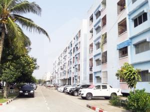For SaleCondoPattaya, Bangsaen, Chonburi : Condo Housing for sale at only 599,000 baht.