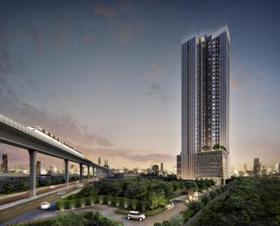 Sale DownCondoBang Sue, Wong Sawang : Sell Down Payment The Privacy Tao Poon Interchange Studio, 9th floor, good location, great view, overlooking the sky train