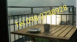 For SaleCondoRama3 (Riverside),Satupadit : Sell # Water room # Sell 4.7 million high floor, full river view