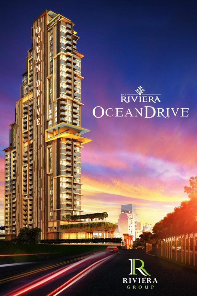 For SaleCondoPattaya, Bangsaen, Chonburi : Luxury Condo for sale in Pattaya The Riviera Ocean Drive
