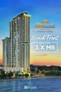 For SaleCondoChonburi, Pattaya, Bangsa : Copacabana Beach Jomtien