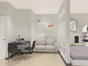 เช่าคอนโดลาดกระบัง สุวรรณภูมิ : ให้เช่าใหม่ ห้องวิวสระว่ายน้ำ ห้องไม่แดด! คอนโด ไอริสแอเวนิว อ่อนนุช-ลาดกระบัง  Iris Avenue Onnuch - Suvarnabhumi ไอริส แอเวนิว อ่อนนุช - วงแหวน