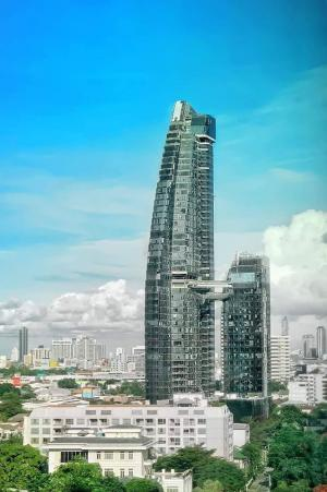 Sale DownCondoSukhumvit, Asoke, Thonglor : Sell at par 1 bedroom, high floor, Thonglor view, cheapest in the project