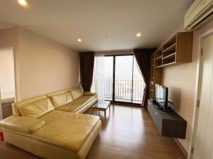 For SaleCondoBang Sue, Wong Sawang : 2-bedroom condo for sale @ The Tree Interchange, Tao Poon, Building A, corner room, river view, 59 sq m, fully furnished, 5.9 million