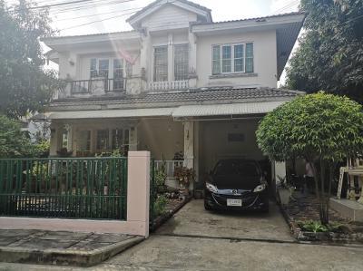 ขายบ้านแจ้งวัฒนะ เมืองทอง : ขายบ้านแสนร่มรื่น ขนาด 56.3 ตรว หมู่บ้านชัยพฤกษ์ 1 ถนน 345 ใกล้แยกบางคูวัด
