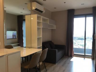 For RentCondoOnnut, Udomsuk : 41.5sqm room for rent, 19th fllor, fully furnished