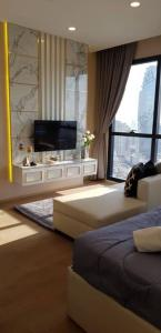 1 BR. 35sqm. For Rent Ashton Chula Silom (BTS Saladeang, MRT Samyan)