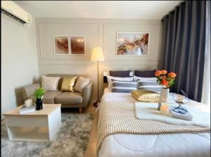 For SaleCondoOnnut, Udomsuk : For sale, Condo Elio Delray, Elio Delray, Sukhumvit 64, 24 sq. M., Fully furnished, price 1.59 million THB contact :095-9571441