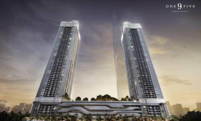 Sale DownCondoRama9, RCA, Petchaburi : [Sell Down] One9Five Rana 9 - 1 Bedroom 40.50 sqrt.m. on 31st Floor.