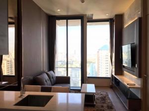 The Esse Asoke For Rent  Floor 28th, one bedroom 37 sqm. Facing East
