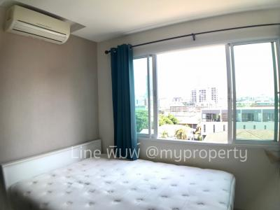 For SaleCondoRatchadapisek, Huaikwang, Suttisan : (Quick sale !!) The Maple Ratchada 19, Chang Building view, near MRT Lat Phrao-MRT, Ratchadaphisek, good location, access in many ways