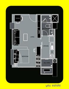 For sale Ivy Thonglor, 36 sq.m studio room ไอวี่ ทองหล่อ