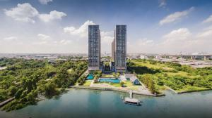 For SaleCondoRathburana, Suksawat : Chapter One Condo 21st Floor, Corner Room, 180 degree River View