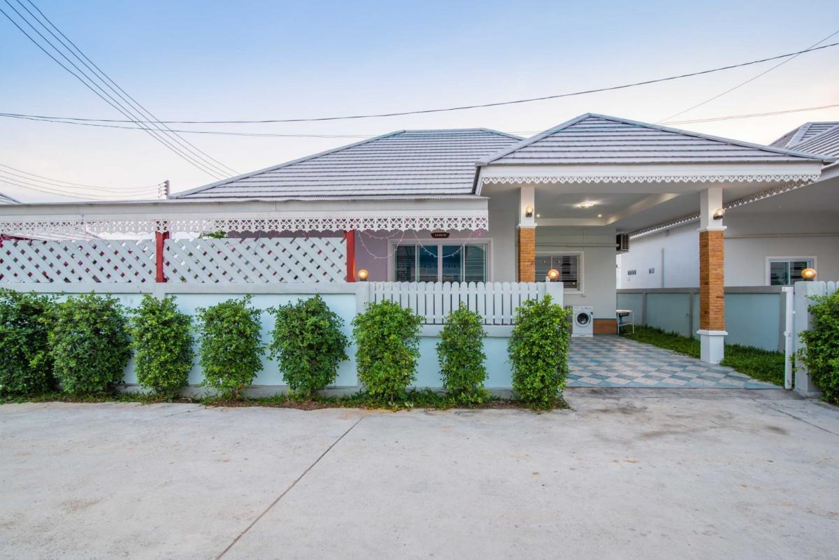For RentHouseHua Hin, Prachuap Khiri Khan, Pran Buri : For Rent Beautiful House, Cheap Pool Villa, Cha Am - Hua Hin * 3,900 / Day