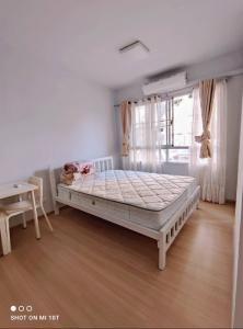 For RentCondoRattanathibet, Sanambinna : Room for rent  PLUM Condominium Samakkhi (fully furnished)26sqm.