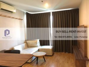 For SaleCondoPattanakan, Srinakarin : For Sale Condo U Delight Residence Phatthanakan-Thonglor 35 sqm. City view, 8th floor, 2.69 L