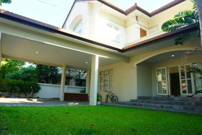 For SaleHouseBangbuathong, Sainoi : Urgent sale, two-story house, Maneeya Village, Tha It, near BTS