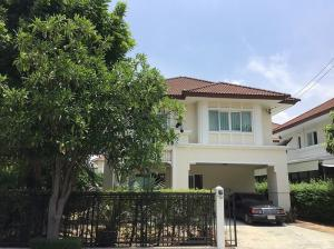 For RentHouseNawamin, Ramindra : 2 storey detached house to rent 80 Trw. The Project call. Near Fashion Highland mall / Kanchanaphisek Expressway, Ram Inthra Road