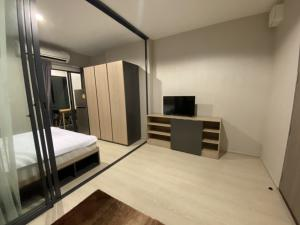 For SaleCondoSamrong, Samut Prakan : Sale IDEO S115, next to BTS 0 meters (owner sell) Floor 33, very cheap price, lower than the project price of 7.5 hundred thousand baht ... One step luxury condo, next to the BTS Pu Station, towards Siam, 33rd floor, high floor Beautiful view, 27.43 sqm.,