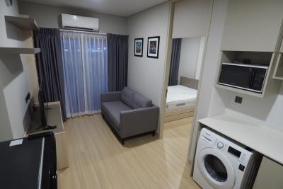 เช่าคอนโดพระราม 9 เพชรบุรีตัดใหม่ : ให้เช่า Condo Lumpini Suite Phetchaburi-Makasan คอนโดใหม่แต่งครบ ใกล้ MRT และ Airport Link #เจ้าของปล่อยเอง