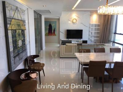 For RentCondoSathorn, Narathiwat : For Rent The Bangkok Sathorn (127 square meters)