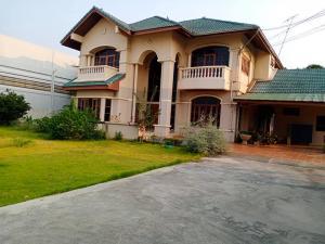 For RentHouseBangbuathong, Sainoi : House for rent With furniture The entrance of Wat Lat Pla Duk, Bang Bua Thong